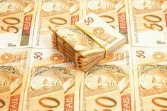 Dinero brasileño fotos de archivo