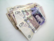 Dinero BRITÁNICO Fotos de archivo libres de regalías