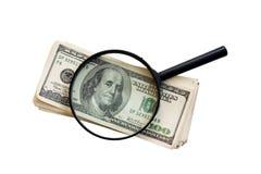 Dinero (camino de recortes incluido) fotografía de archivo