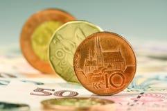 Dinero checo Fotografía de archivo libre de regalías