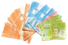 Dinero chileno Foto de archivo libre de regalías
