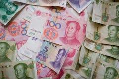 Dinero chino Fotografía de archivo libre de regalías