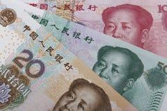 Dinero chino (RMB) Imágenes de archivo libres de regalías