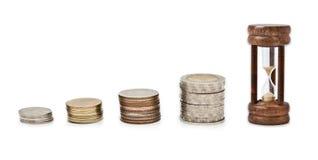 Dinero con tiempo Fotos de archivo