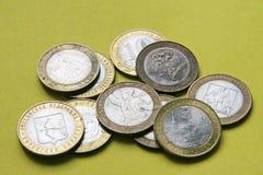 Dinero ruso imágenes de archivo libres de regalías