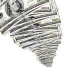 Dinero creciente Foto de archivo libre de regalías
