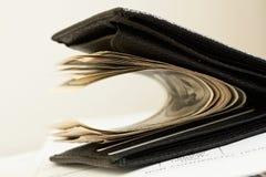 Dinero, dólares Imagen de archivo