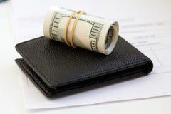 Dinero, dólares Imágenes de archivo libres de regalías