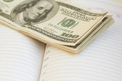 Dinero, dólares Fotografía de archivo libre de regalías