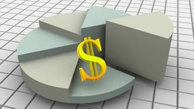 Dinero 3d libre illustration
