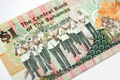 Dinero de Bahamas Imagenes de archivo