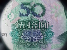 Dinero de China Foto de archivo libre de regalías