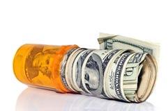 Dinero de droga Imágenes de archivo libres de regalías