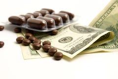 Dinero de drogas Fotografía de archivo libre de regalías