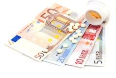 Dinero de drogas Foto de archivo libre de regalías