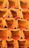 Dinero de encargo tradicional chino del objeto-fantasma Imágenes de archivo libres de regalías
