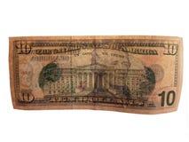 Dinero de Estados Unidos Foto de archivo libre de regalías