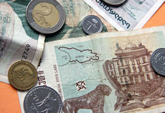 Dinero de Georgia Foto de archivo