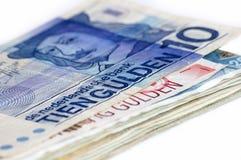Dinero de Holanda. fotos de archivo