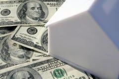 Dinero de la casa Imágenes de archivo libres de regalías