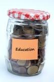 Dinero de la educación Fotos de archivo libres de regalías