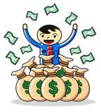 Dinero de la ganancia ilustración del vector