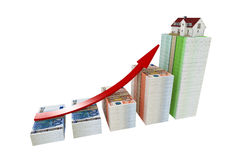 Dinero de la ganancia Foto de archivo libre de regalías