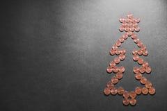 Dinero de la Navidad Fotos de archivo