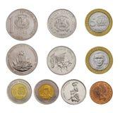 Dinero de la República Dominicana imágenes de archivo libres de regalías