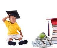 Dinero de la universidad Imagen de archivo libre de regalías