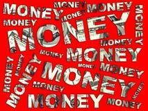 Dinero de las palabras de dólares libre illustration