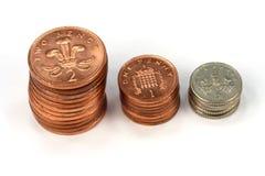 Dinero de los ahorros Fotografía de archivo