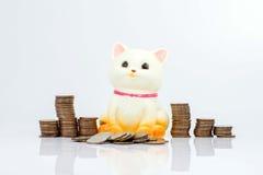 Dinero de los ahorros Imágenes de archivo libres de regalías