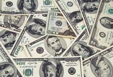 Dinero de los E.E.U.U. Imagenes de archivo