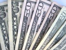 Dinero de los E.E.U.U. Foto de archivo libre de regalías