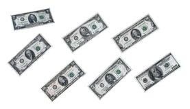 Dinero de los E.E.U.U. Fotos de archivo
