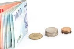 Dinero de los yenes japoneses Imagenes de archivo