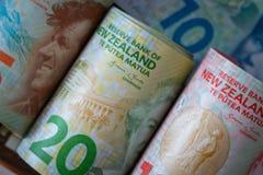 Dinero de Nueva Zelanda fotografía de archivo