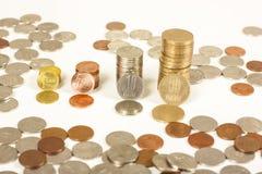 Dinero de Rumania Imagen de archivo libre de regalías