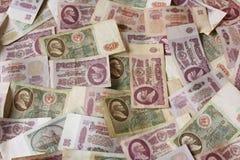 Dinero de URSS de la rublo Fotografía de archivo libre de regalías