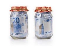 Dinero del ahorro Foto de archivo libre de regalías
