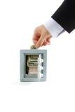 Dinero del ahorro Fotos de archivo