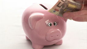 Dinero del ahorro almacen de video
