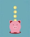 Dinero del ahorro Imagen de archivo libre de regalías
