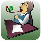 Dinero del asunto libre illustration