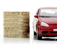 Dinero del coche Imagenes de archivo