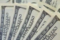 Dinero del dólar Fotografía de archivo