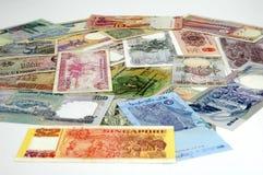 Dinero del fondo Foto de archivo libre de regalías
