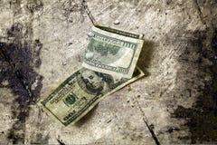Dinero del Grunge Imagenes de archivo