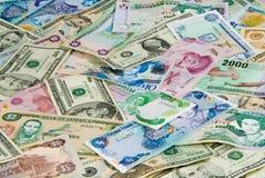 Dinero del recorrido Foto de archivo libre de regalías